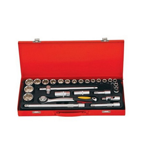 27pcs handle socket tool set