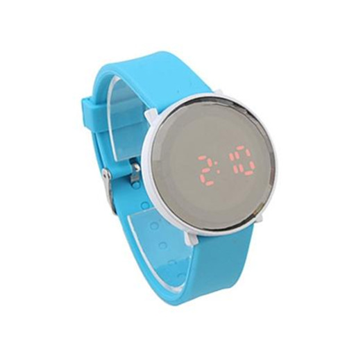 Ajustable Waterproof Silicone Bracelet Slap Kid Watch