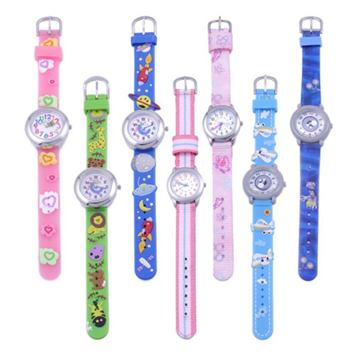 Cheap 3D Cartoon Children Watch