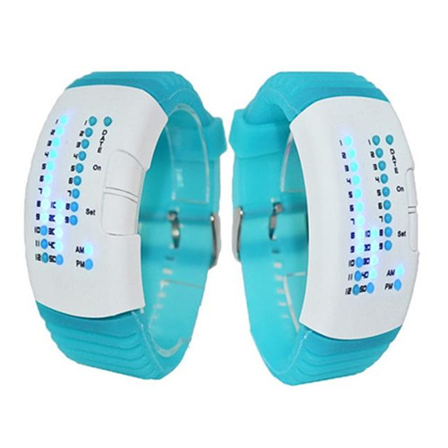 New Style LED Silicone Woman Watch