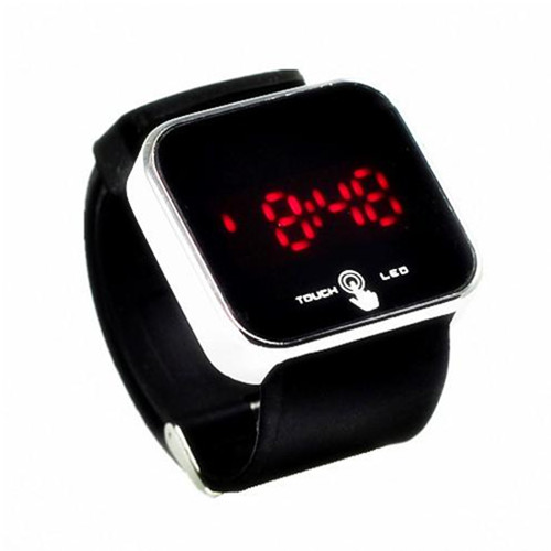 Promotional Touch LED Silicone Watch