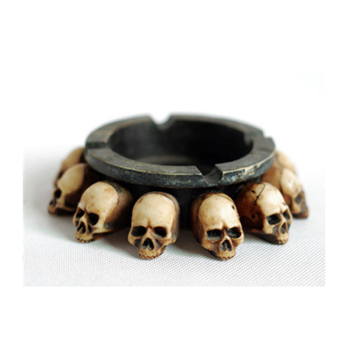 Skeleton ashtray,Skull shape ashtray