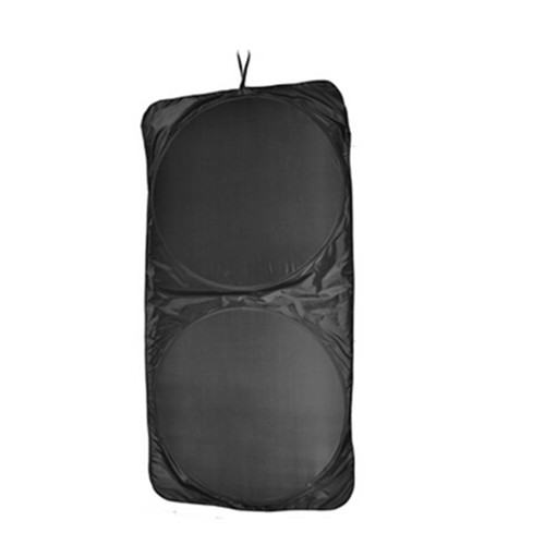 Black color car front window sunshade