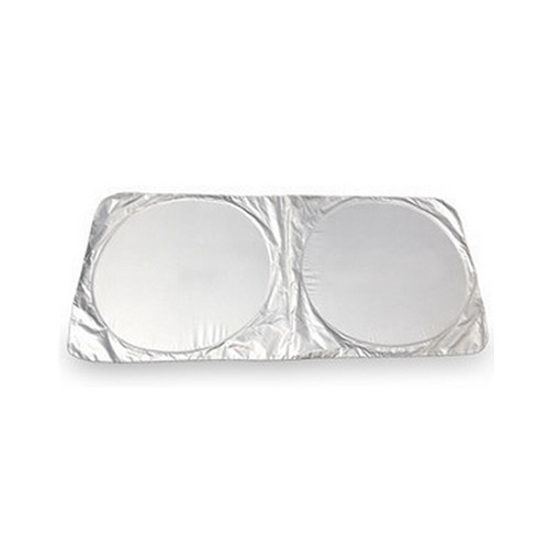 Silver coating polyester car front side window sunshade