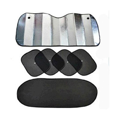 Best Sell 6pc car windshield auto glass rear window sunshade