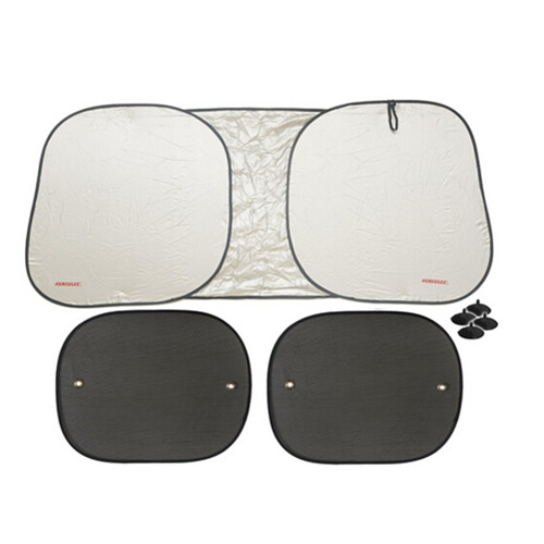 Car front window and back window sunshade set
