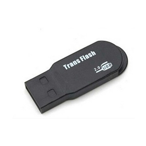 Black color good quality SD and TF card reader