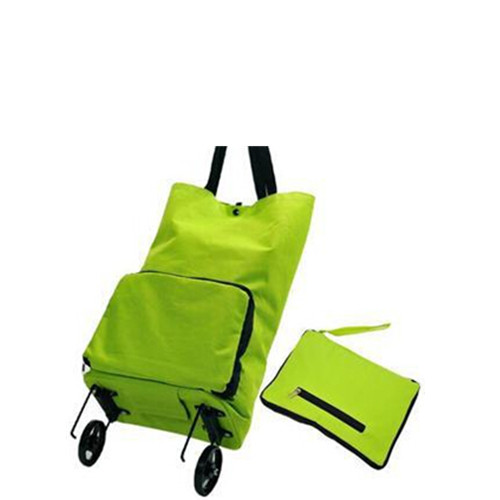 Cheap collapsible foldable wheeled trolley shopping cart