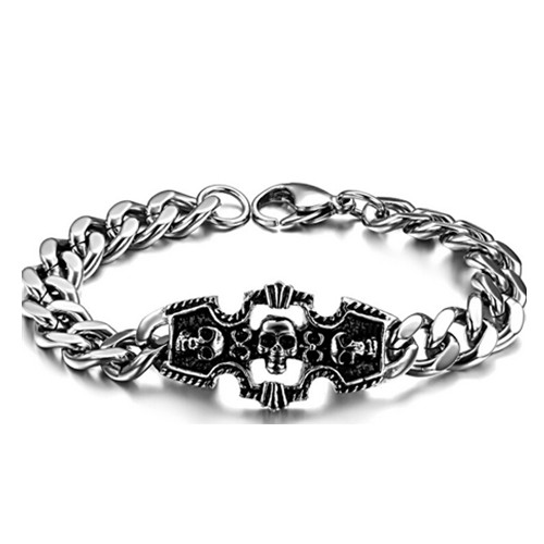 New style skeleton shape metal bracelet