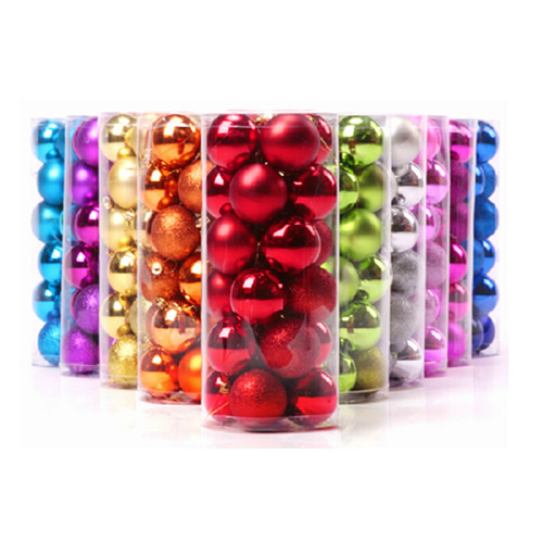 24pcs in one set 4cm, 6cm, 8cm christmas ball