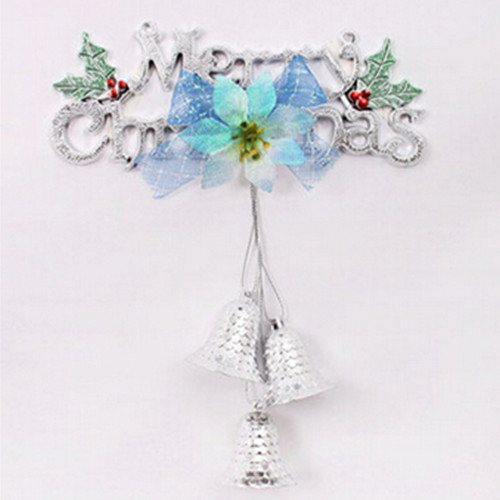 20cm merry christmas brand three christmas bells