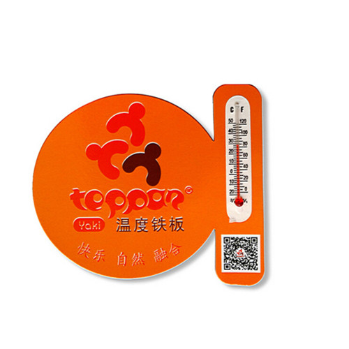 Promotional cheap thermometer fridge magnet