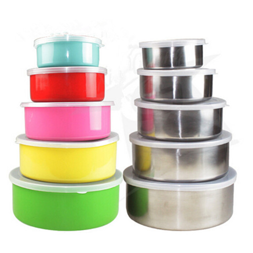 Wholesale Food Storage Boxes  stainless steel Bowl