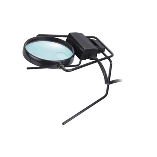 Promotional desk magnifier, table magnifier, folding desk lamp magnifier