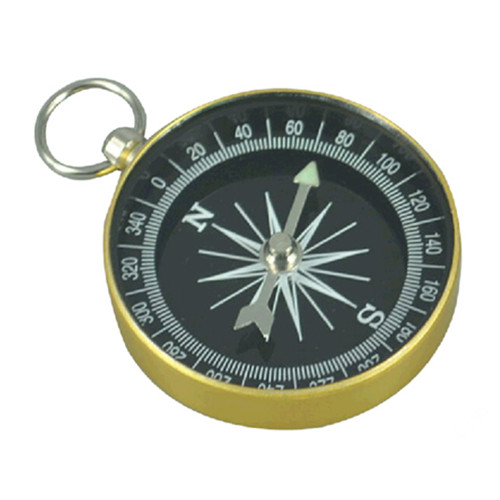 Aluminum round shape travel outdoor camping compass