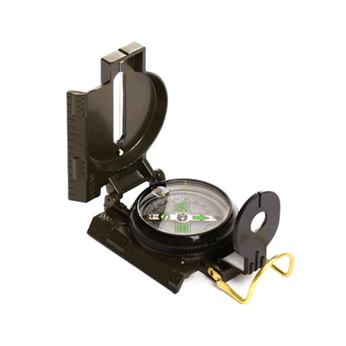Promotional camping military compass