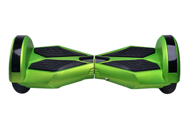 Wholesale popular green color smart 2 wheels self balancing scooter with bluetooth and led light