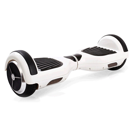Wholesale two wheel white color smart self balancing electric scooter skateboard drafting scooter