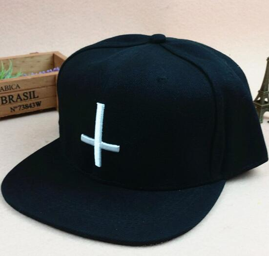 Wholesale black color brushed cotton hip hop cap
