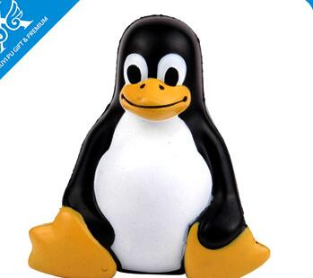 Wholesale penguin shape pu stress ball