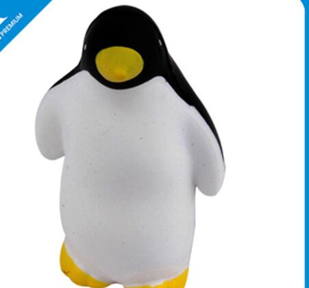 Wholesalewhite color penguin shape pu stress ball