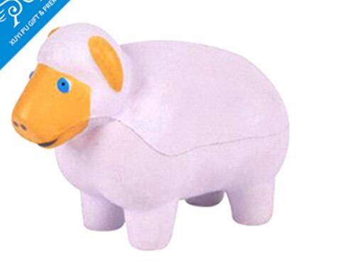 Wholesale sheep shape pu stress ball