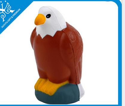 Wholesale woodpecker shape pu stress ball