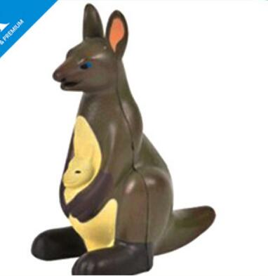 Wholesale kangaroo shape pu stress ball