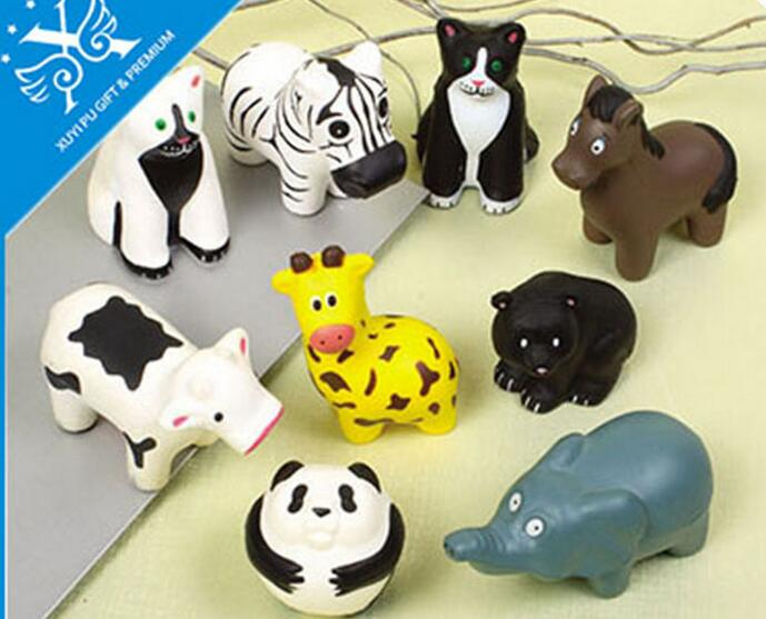 Wholesale custom animal shape pu stress ball