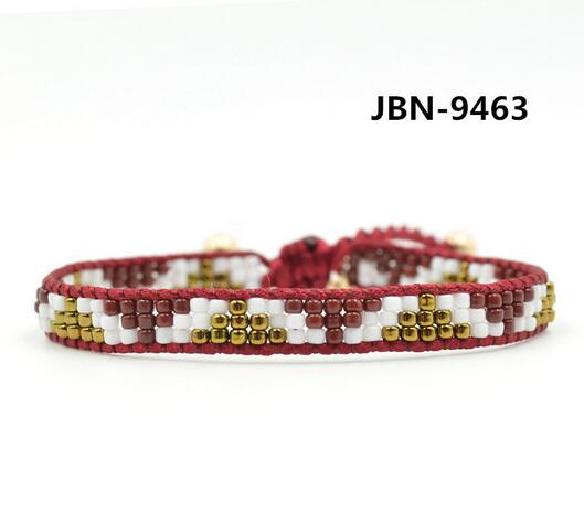 Wholesale red color bead diy wrap bracelet