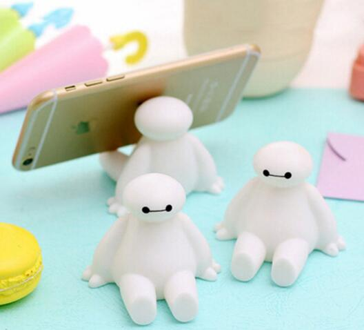 Promotional baymax mobile phone holder