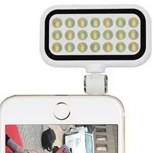 Enhancing Selfie Flash LED Fill-in Light for iPhone & Android Smartphones & Tablets & Digital camera