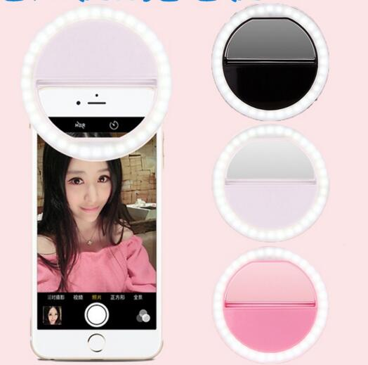 Cellphone LED Selfie Ring Light 36 LED Universal Ring Mounted for mobile phone