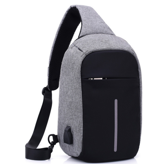 Anti-theft With USB Charge Port an ,Lightweight Outdoor Waterproof Travel Business Laptop travel shoulder bag